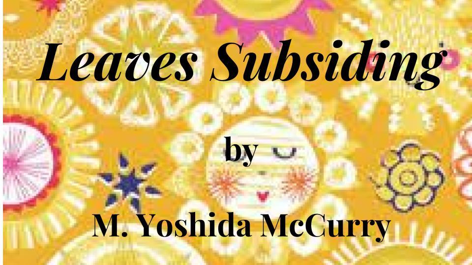 leaves subsiding image